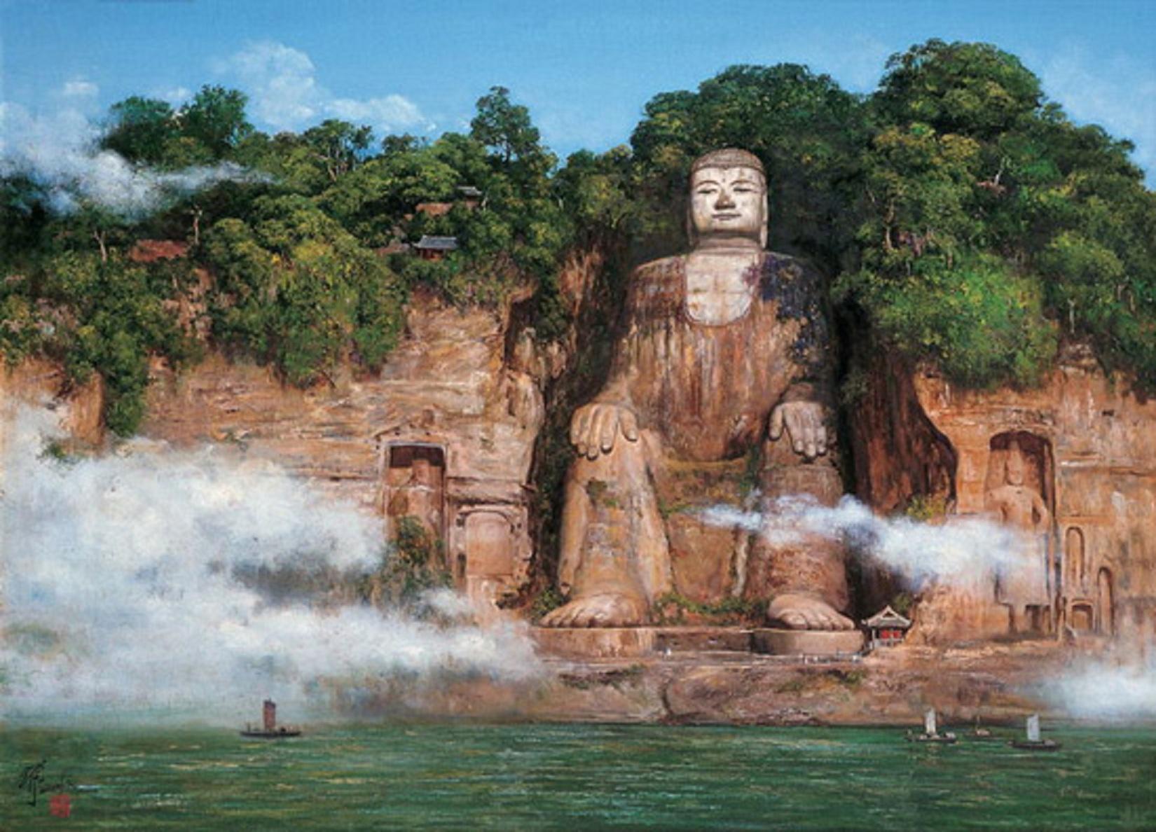Leshan-Giant-Buddha-China-Historical